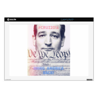 "Ted Cruz - We the People Skin For 17"" Laptop"