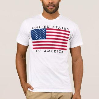 Ted de uni States of America EE.UU. bandera Playera