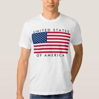 Ted de uni States of America EE.UU. bandera Remeras