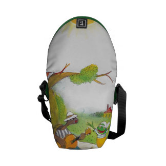 Ted, Ed and Caroll The Picnic 1 Courier Bags
