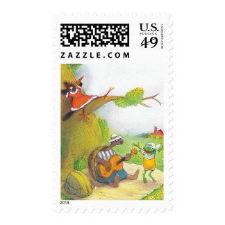 Ted Ed and Caroll The Picnic 1 Postage Stamps