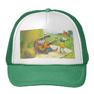 Ted, Ed and Caroll The Picnic 1 Trucker Hat