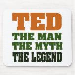TED - el hombre, el mito, la leyenda Alfombrilla De Ratones