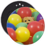 Ted in the ball pool pins