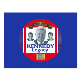 Ted Kennedy 2009 Legacy Postcard
