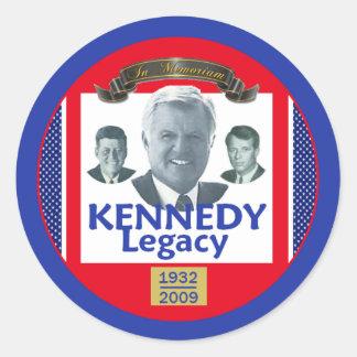 Ted Kennedy 2009 Legacy Sticker