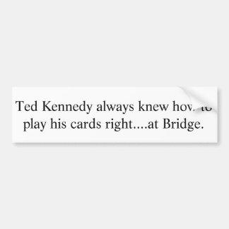 Ted Kennedy Bumper Sticker