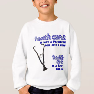 Ted Kennedy Health Care Reform Support Sweatshirt