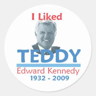 Ted Kennedy I LIKED TEDDY Sticker