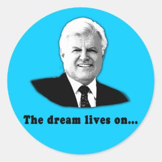 Ted Kennedy las vidas del sueño encendido Etiqueta