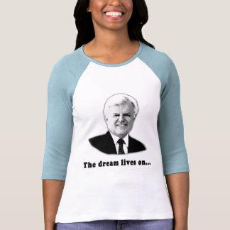 Ted Kennedy las vidas del sueño encendido Camiseta
