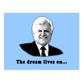 Ted Kennedy las vidas del sueño encendido Tarjetas Postales