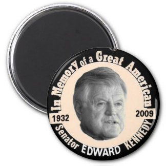 Ted Kennedy Memorial Pin Magnet