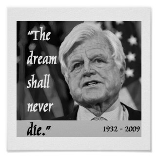 ted kennedy memorial poster