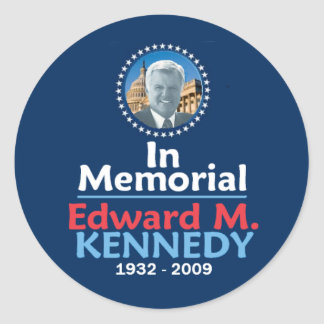 Ted Kennedy Memorial Sticker