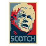 Ted Kennedy - Scotch: OHP Poster