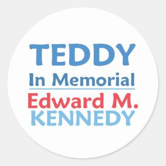 Ted Kennedy TEDDY Sticker