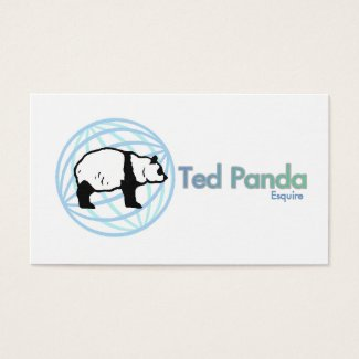 Ted Panda, Esquire Business Card