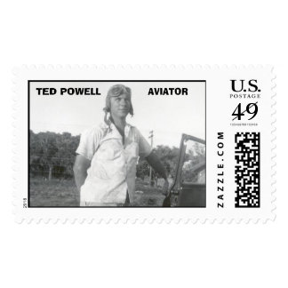 TED POWELL, AVIATOR POSTAGE