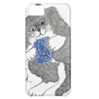 Ted s Blue Yarn Play Case For iPhone 5C