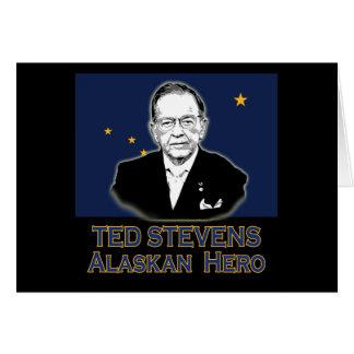 Ted Stevens, Alaskan Hero Tshirts, Hoodies Card