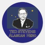 Ted Stevens, Alaskan Hero Tshirts, Hoodies Sticker
