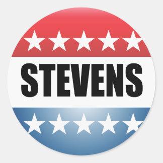 TED STEVENS PEGATINAS REDONDAS