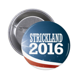 Ted Strickland 2016 Pinback Button