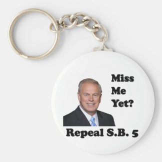 Ted Strickland Miss Me Yet? Repeal SB5 Keychain