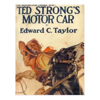 Ted Strong Postcard