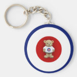 Ted Target Key Chain