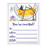 Ted the hamster invitations