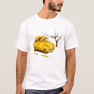 Ted the Head - T-Shirt (White)