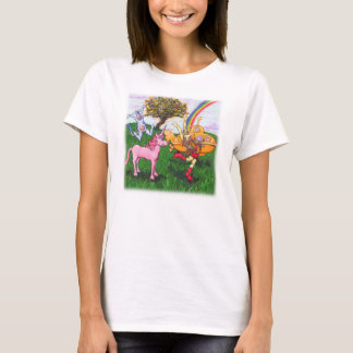 Ted the Unicorn and Sassy the Cow T-Shirt