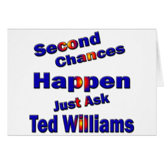 Ted Williams Second Chance2 Card