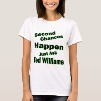 Ted Williams Second Chances Green T-Shirt