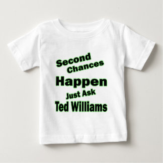 Ted Williams Second Chances Green Tee Shirt