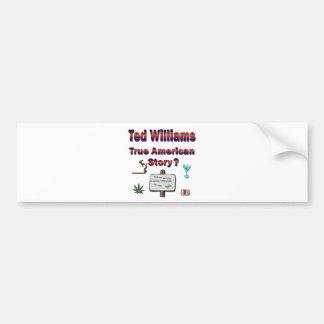 Ted Williams True American Story2 Bumper Sticker