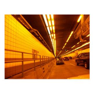 TED WILLIAMS tunnel postcard