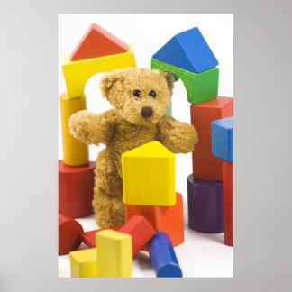 Ted y su poster del castillo…