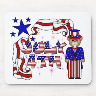Teddies 4th of July Mouse Pad
