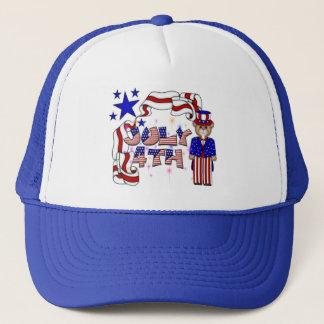 Teddies 4th of July Trucker Hat