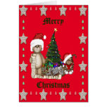 Teddies Christmas List Cards