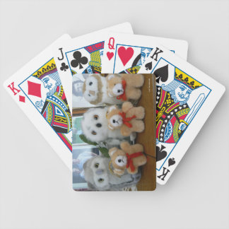 Teddies! Bicycle Playing Cards