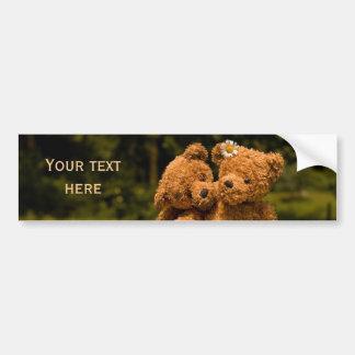 Teddy 01 bumper sticker