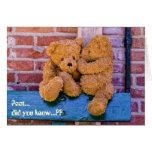 Teddy 07 greeting card