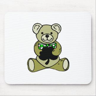 Teddy%20Bear%20&%20Shamrock Mouse Pad