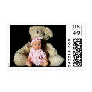 Teddy and Doll Postage
