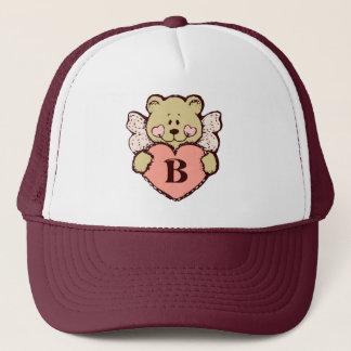Teddy Angel B Trucker Hat