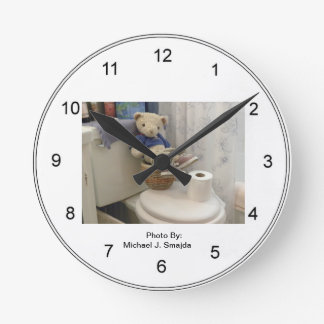 Teddy Bathroom Clock Part 70